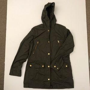J. Crew hooded field jacket size M